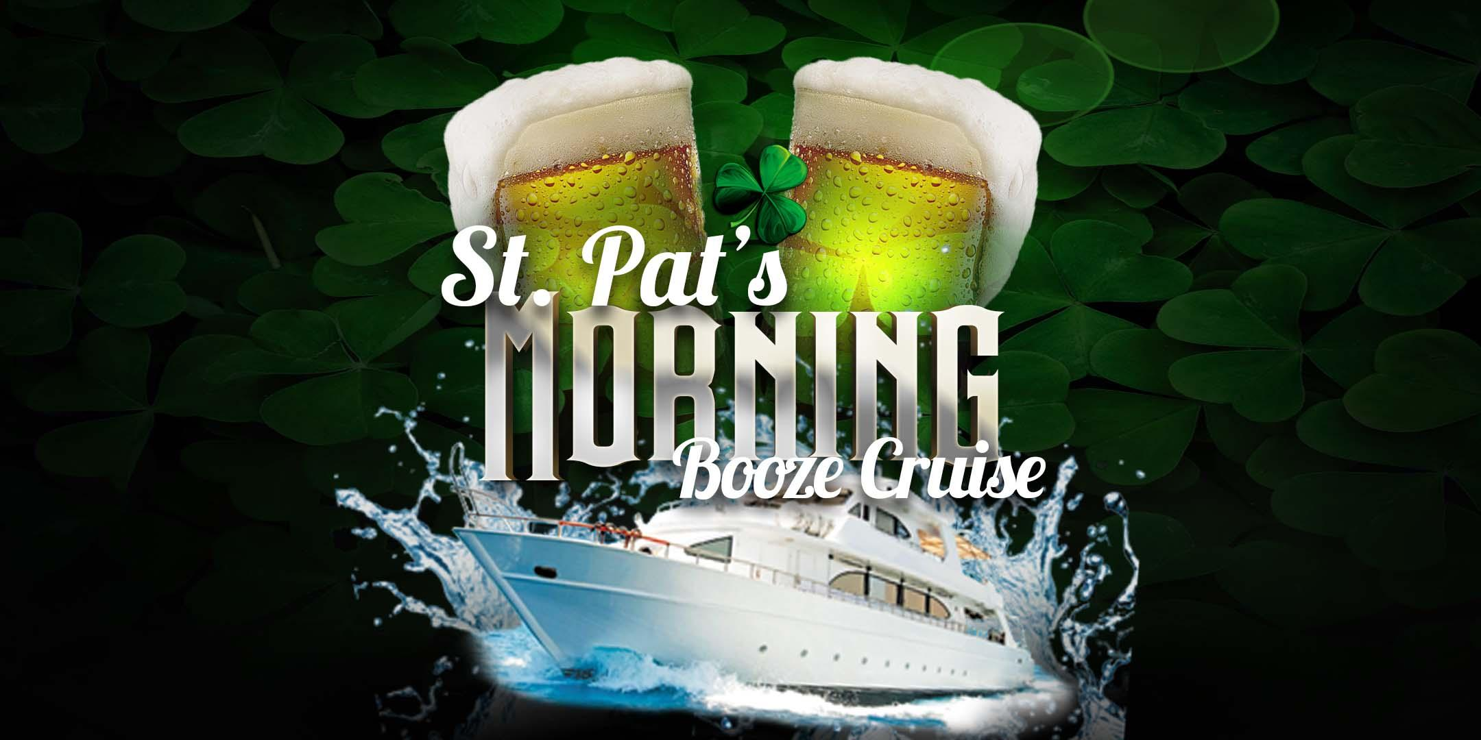 St. Pat's Morning Booze Cruise on March 17th on Anita Dee II! (9:30am)