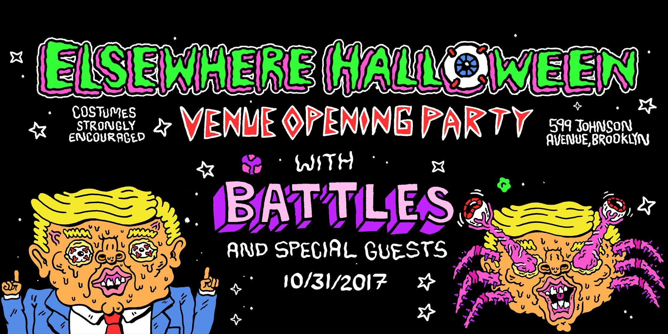 Elsewhere Halloween Grand Opening with Battles!