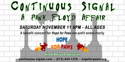 A Pink Floyd Affair - Benefit Concert for Hope For Paws Animal Rescue
