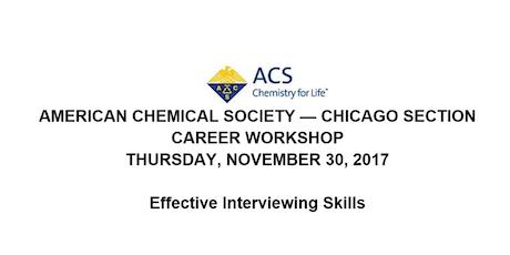 acs career workshop writing an effective resume