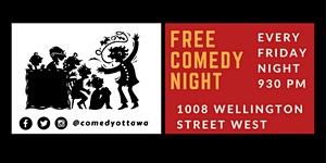 Free Comedy Night in Hintonburg!