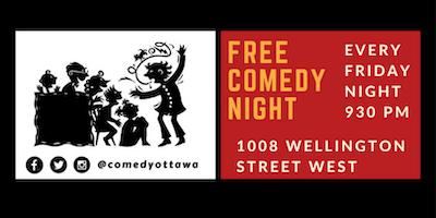 Free Comedy Night in Hintonburg!