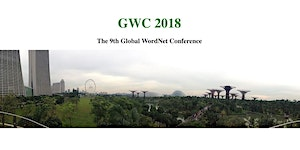 GWC 2018 — The 9th Global WordNet Conference