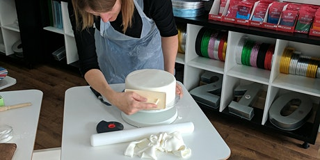 Covering a Cake in Fondant tickets