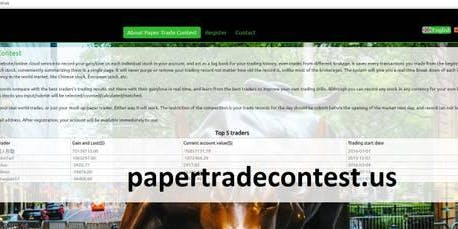 learn trading, investing using papertradecontest.net at starbucks cafe