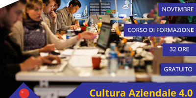 Cultura Aziendale 4.0 per disoccupati OVER 30