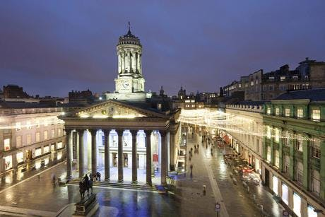 Glasgow Treasure Hunt with 20% off at the fin
