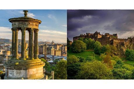 Edinburgh Treasure Hunt + Race with 20% off a
