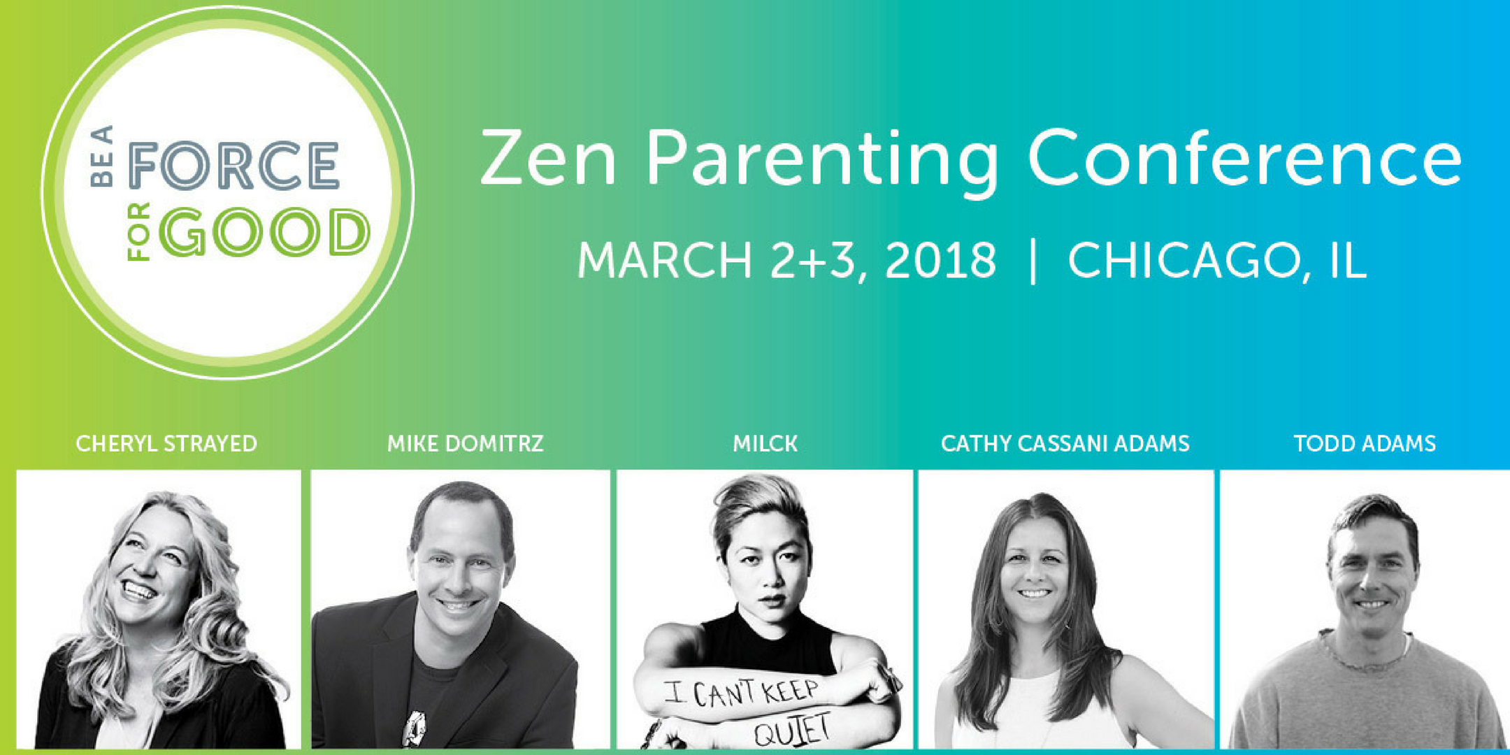 Zen Parenting Conference, 2018