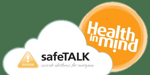 safeTALK 1/2 day course (26th November)