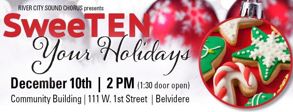 River City Sound Chorus Sweet 10 Show   Belvidere, IL   CBCBC   December 10, 2017