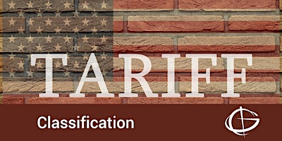 Tariff Classification Seminar in San Diego