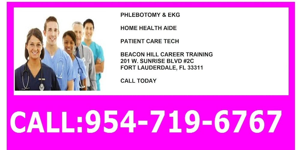 Patient Care Technician Training Tickets Mon Sep 24 2018 At 600