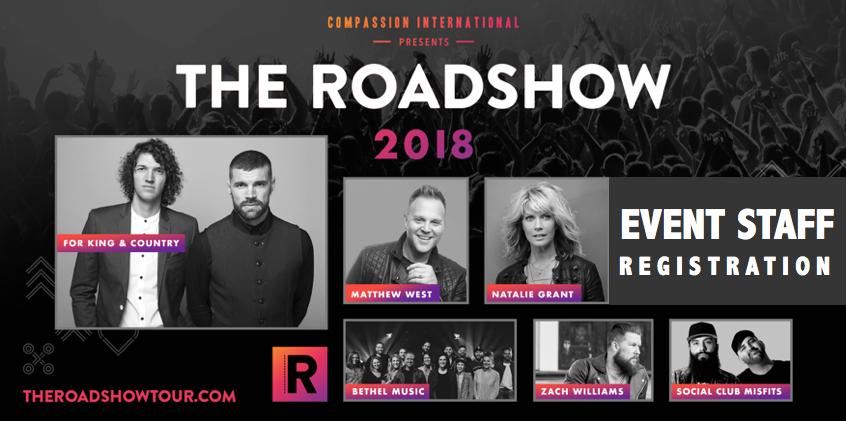 The Roadshow | EVENT STAFF | Dallas, TX
