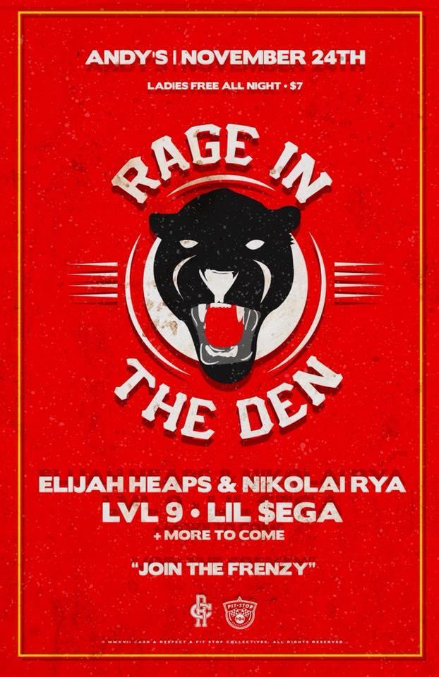 RAGE IN THE DEN: Elijah Heaps x Nikolai Rya, Lvl 9