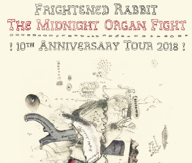 WXRT welcomes Frightened Rabbit: The Midnight Organ Fight 10th Anniversary Tour