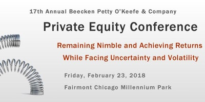 17th Annual Beecken Petty O'Keefe & Company Private Equity Conference