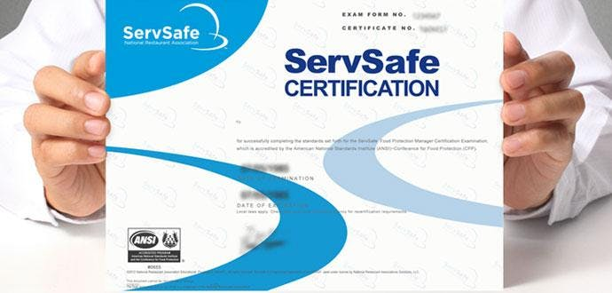 ServSafe Food Manager Class & Certification E