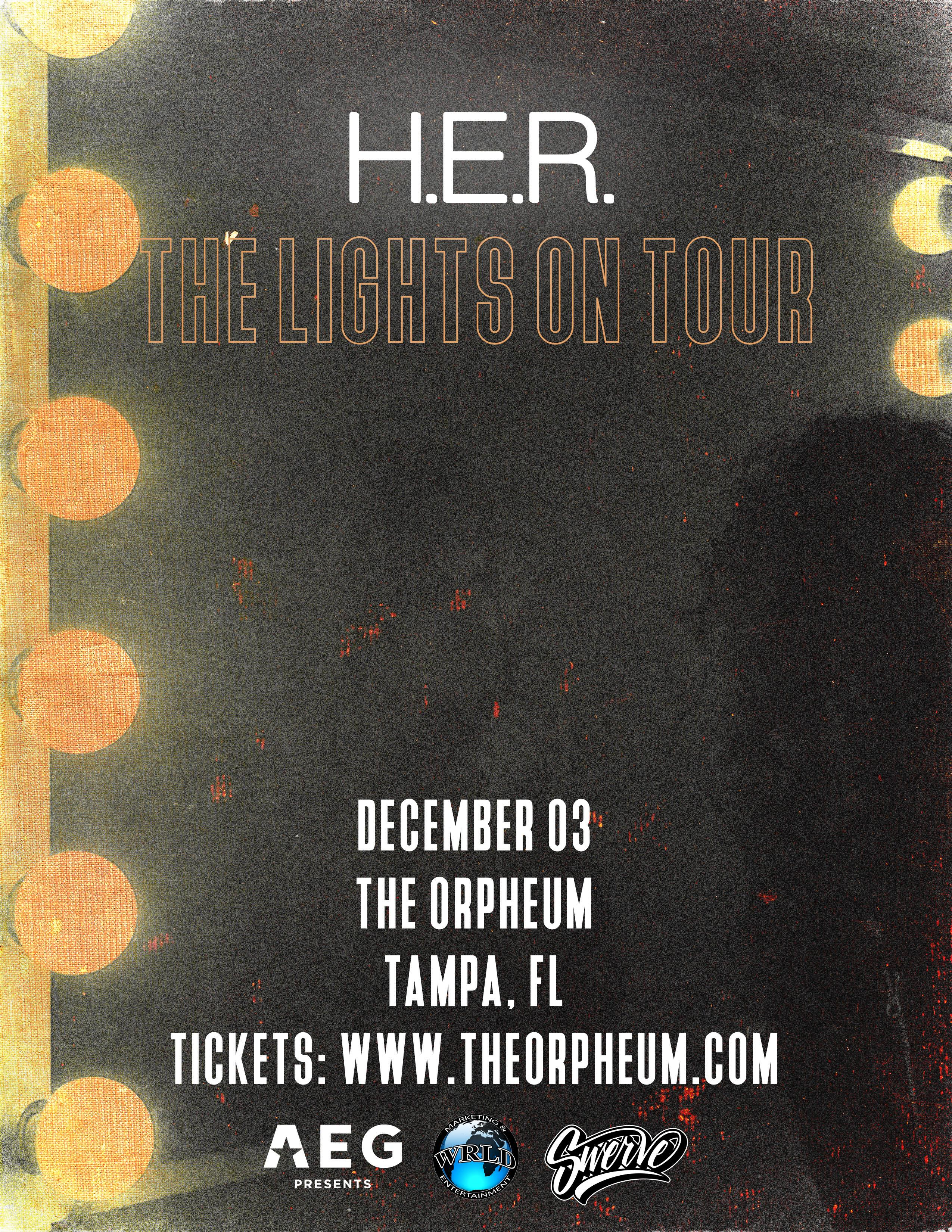Hip hop radio stations in tampa fl - H E R The Orpheum