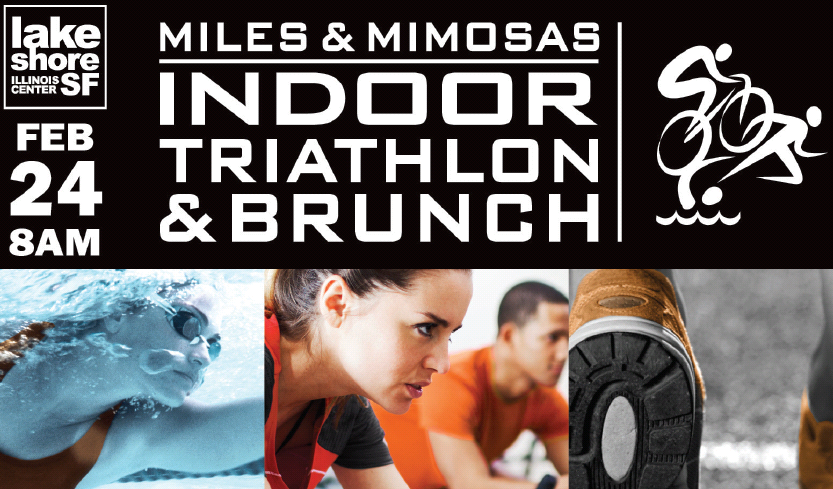 Indoor Tri and Brunch - Miles and Mimosas