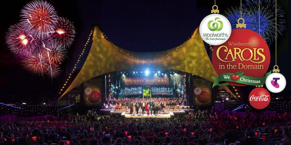 Woolworths Carols In The Domain 2017 Tickets Sun 17122017 At 12
