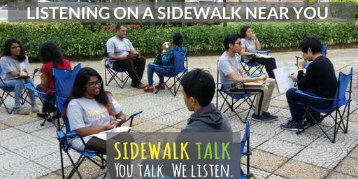 MALAYSIA : You Talk, We Listen @ Sunway Pyramid (In front of Celcom Blue Cube)