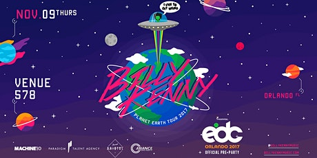 Create - Official EDC Pre-Party w/ Billy Kenny & More - Thursday 11.09.17 tickets
