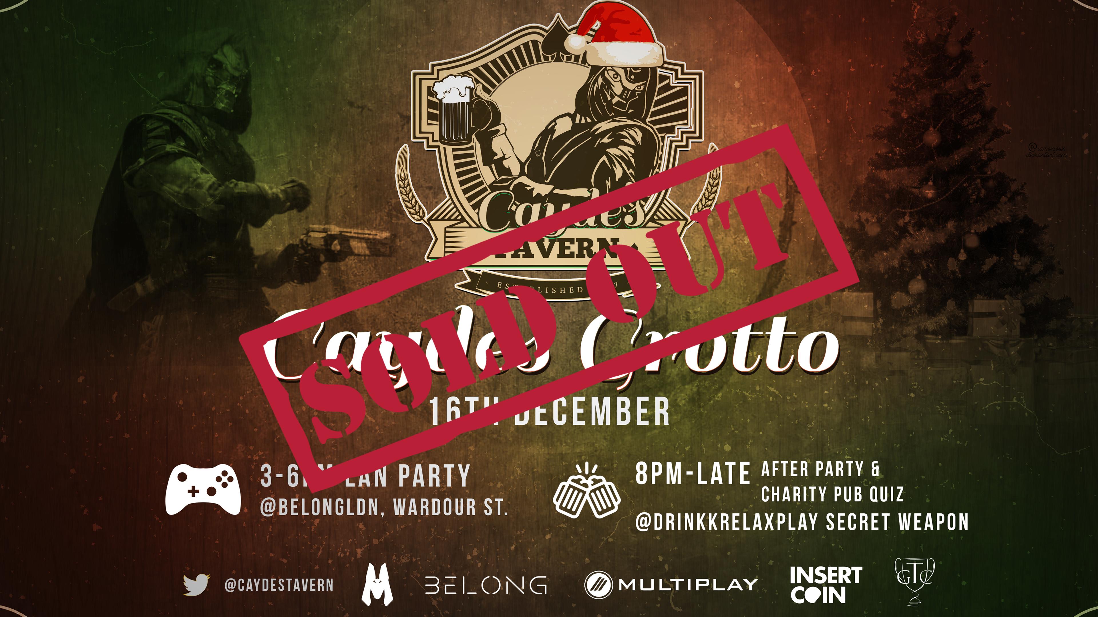 CAYDE'S GROTTO - Destiny 2 Social LAN Party