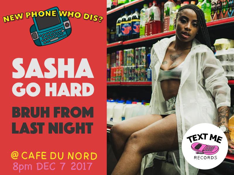 Sasha Go Hard