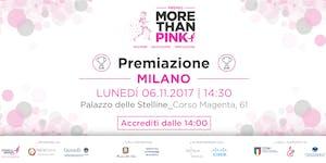 Premio More Than Pink | Evento di Premiazione
