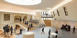 Gloednieuw schoolgebouw markeert een nieuw tijdperk
