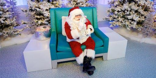 Quiet Santa Visit - At Square One in Mississauga with Autism Ontario