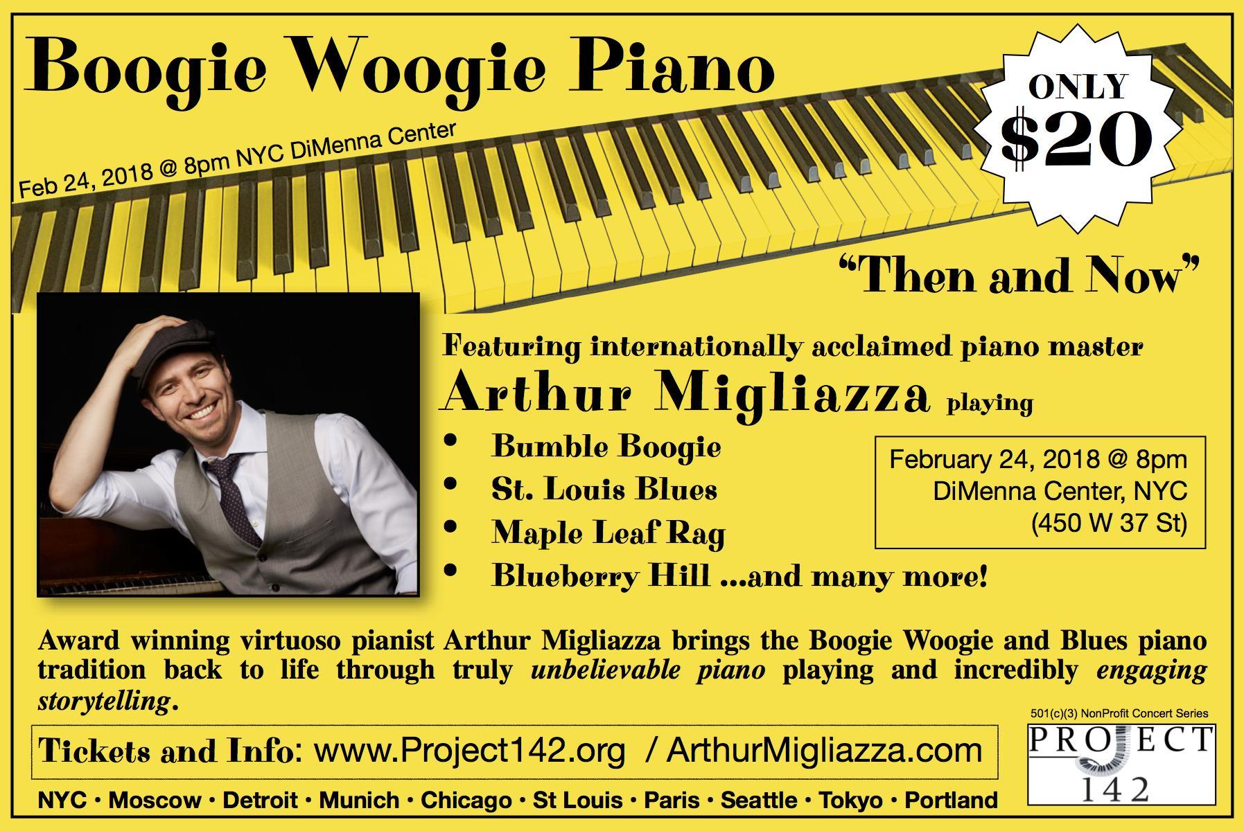 Boogie Woogie Concert in New York City