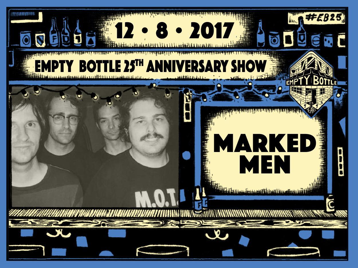 Marked Men / Daylight Robbery / Skip Church / Bric-A-Brac DJs #EB25