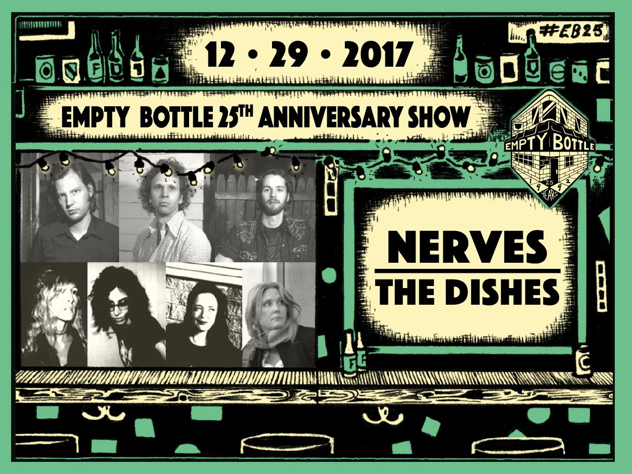 NERVES / The Dishes / Michael Shannon & Friends #EB25