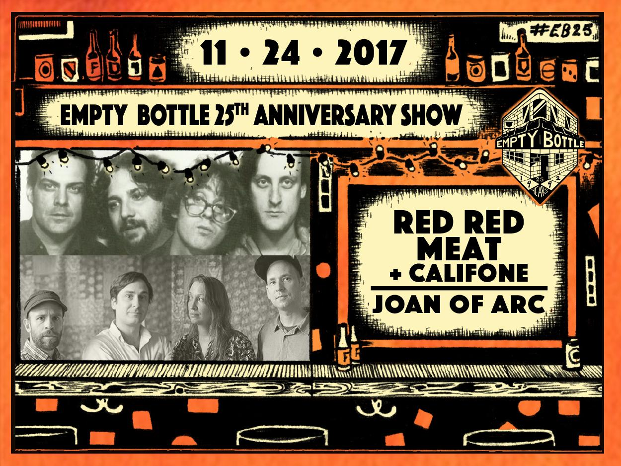 Red Red Meat plus Califone / Joan of Arc / #EB25