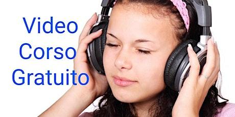 AUDIO GRATUITO + VIDEOCORSO   Migliora la tua vita ascoltando parole positive! biglietti