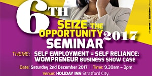 SEIZE THE OPPORTUNITY: WOMPRENEUR BUSINESS SHOWCASE