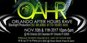 Orlando After Hour Rave Tickets