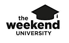 The Weekend University logo