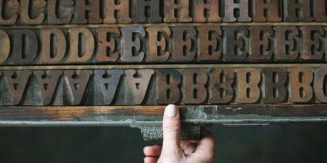 Printing With Wood Type tickets