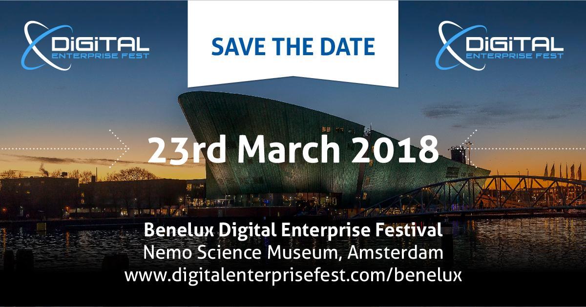 Benelux Digital Enterprise Festival