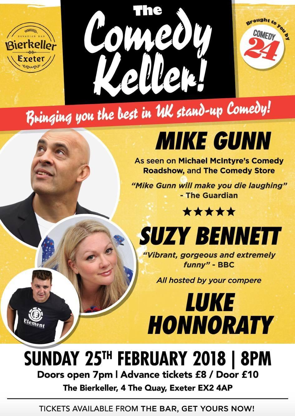 The Comedy Keller Bring You Monthly Night of