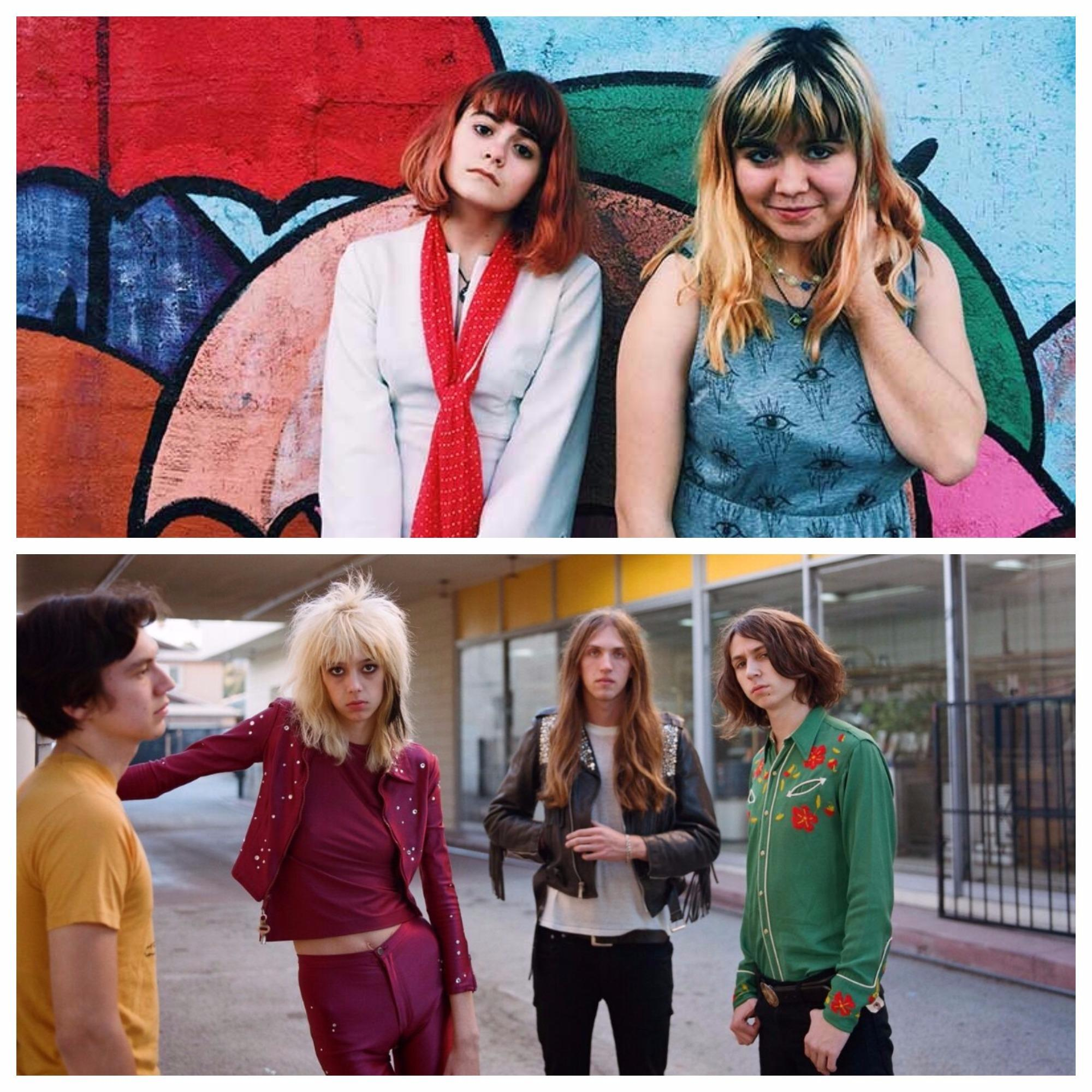 Skating Polly and Starcrawler