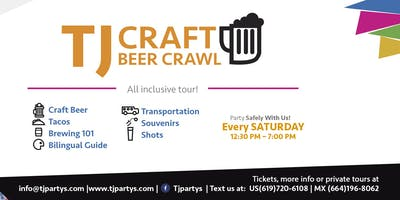 Tijuana Craft Beer Crawl (All inclusive tour)