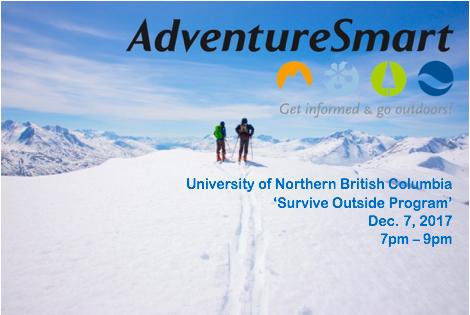 BC AdventureSmart / Survive Outside Program