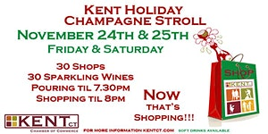 5th Annual Kent Holiday Champagne Stroll