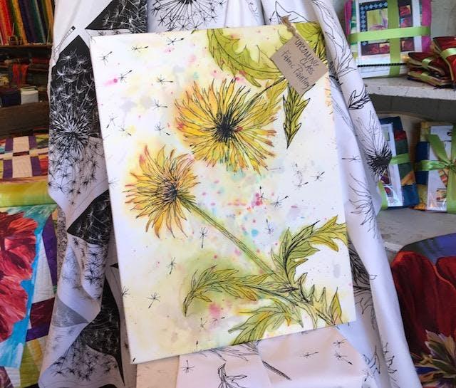 Beginning Fabric Painting