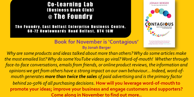 Co-Learning Lab - November Business Book Club  @ The Foundry