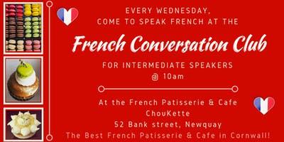 French Conversation Club Newquay (Intermediate)